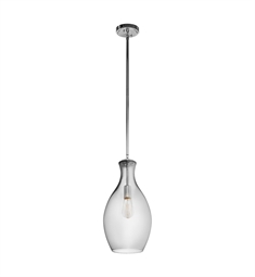 Kichler Everly Collection Pendant 1 Light in Chrome