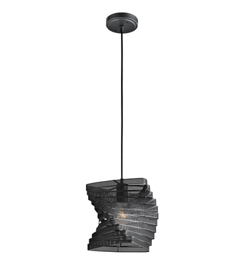 Kichler 42282BK Mini Pendant 1 Light in Black (Painted)