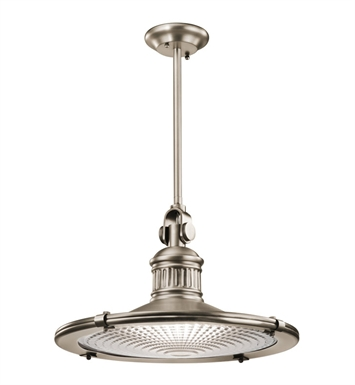 Kichler 42440AP Sayre Collection Pendant 1 Light in Antique Pewter