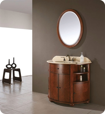 "Avanity OXFORD-V38-DO Oxford 38"" Dark Oak Antique Bathroom Vanity"