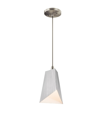Kichler 42753NI Mini Pendant 1 Light in Brushed Nickel