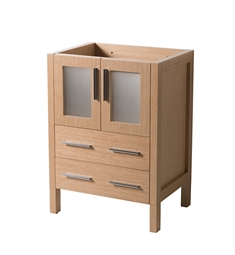 "Fresca FCB6224LO Torino 24"" Light Oak Modern Bathroom Cabinet"