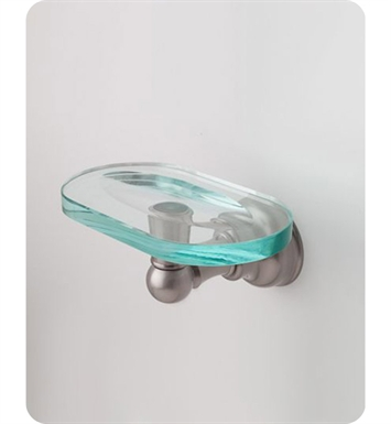 Jaclo 4840-SD-SC Jaylen Soap Dish With Finish: Satin Chrome