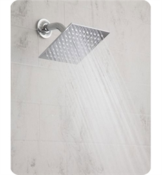 "Jaclo Rain Machine S207 6"" Square Showerhead"