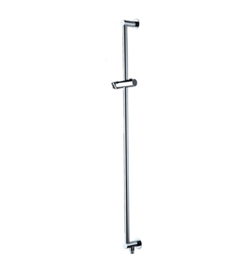 Jaclo 8524-PN Deluxe Adjustable Height and Angle Wall Bar With Finish: Polished Nickel