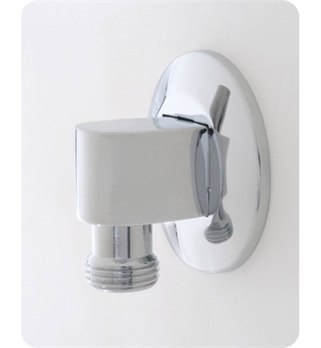 Jaclo 6001-PCH 90° Water Supply Elbow with Escutcheon With Finish: Polished Chrome