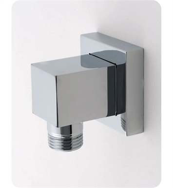 Jaclo 8701-SN Cubix Water Supply Elbow With Finish: Satin Nickel