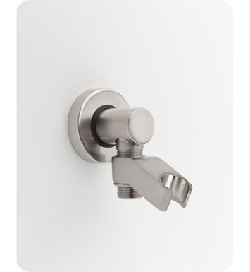 Jaclo 6486-SC Water Supply Elbow with Handshower Holder With Finish: Satin Chrome