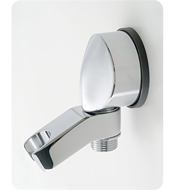 Jaclo 6416-SN Water Supply Elbow with Handshower Holder With Finish: Satin Nickel