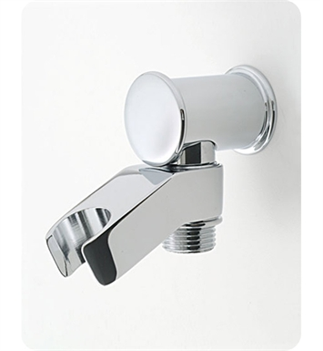 Jaclo 6418-SB Water supply elbow with handshower holder With Finish: Satin Brass