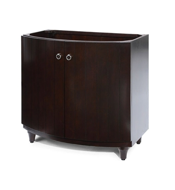 "Ryvyr V-KARA-36DE KARA 36"" Modern Bathroom Vanity in Dark Espresso Finish"
