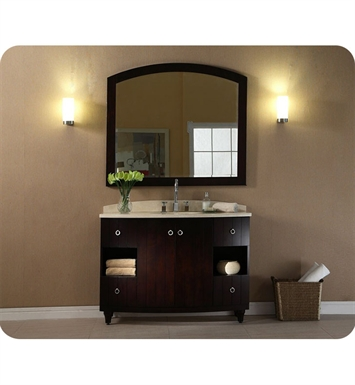 "Ryvyr V-KARA-48DE KARA 48"" Modern Bathroom Vanity in Dark Espresso Finish"