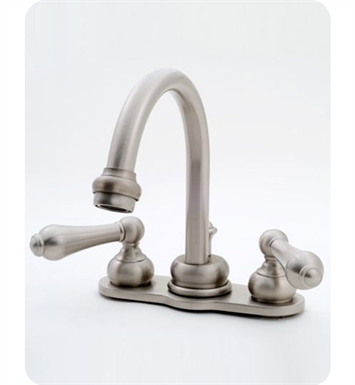 "Jaclo 6590-L-PB 4"" high arc mini widespread lavatory faucet With Finish: Polished Brass"