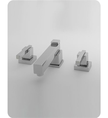 Jaclo 4204-SC CUBIX® lavatory faucet With Finish: Satin Chrome