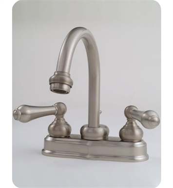 "Jaclo 6490-L-SC 4"" High arc centerset lavatory faucet With Finish: Satin Chrome"