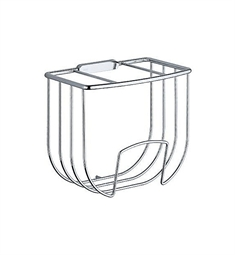 Keuco Astor 04972010000 Towel Basket in Chrome