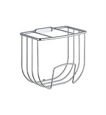 Keuco 04972010000 Astor Towel Basket in Chrome