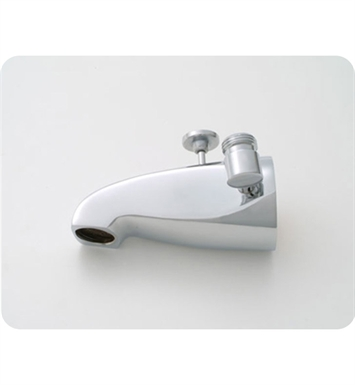 Jaclo 2009-PN Decorative Tub Spout with Diverter & Handshower Outlet With Finish: Polished Nickel