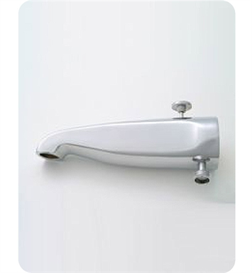 Jaclo 2010-SN Decorative Tub Spout with Diverter & Handshower Outlet With Finish: Satin Nickel