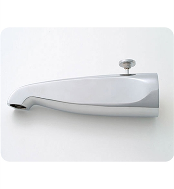 Jaclo 2011-WH Decorative Tub Spout with Diverter With Finish: White