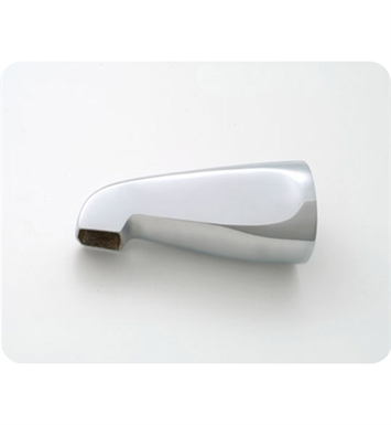 Jaclo 2007-TB Over The Rim Decorative Tub Spout With Finish: Tristan Brass
