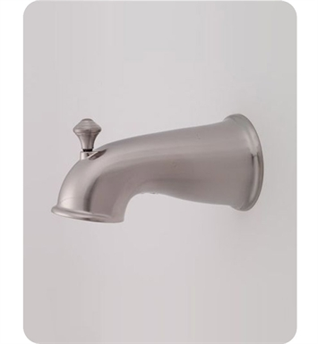 Jaclo 2040-SN Decorative Victorian Tub Spout with Diverter With Finish: Satin Nickel