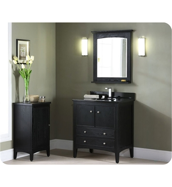 Excellent KENT24DK Kent 24quot Vanity In Brown Ebony Traditionalbathroomvanities