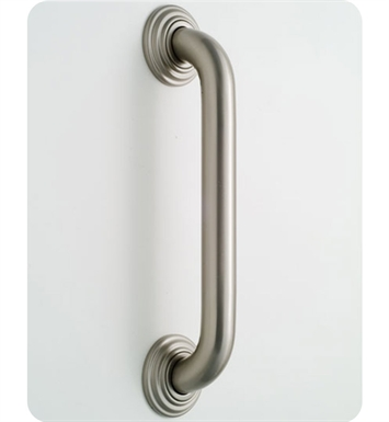 Jaclo 2512-SN Deluxe Grab Bar with Traditional Round Flange With Finish: Satin Nickel