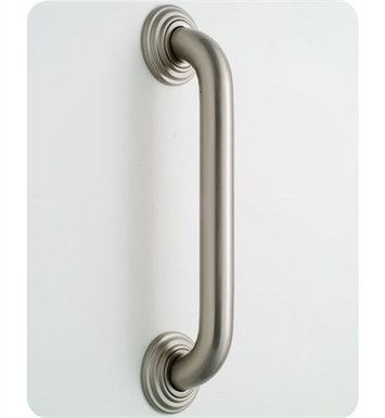 Jaclo 2648-AB Deluxe Grab Bar with Contemporary Round Flange With Finish: Antique Brass