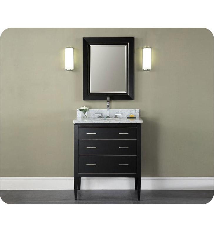 ryvyr v manhattan 30bk manhattan 30 modern bathroom vanity in black