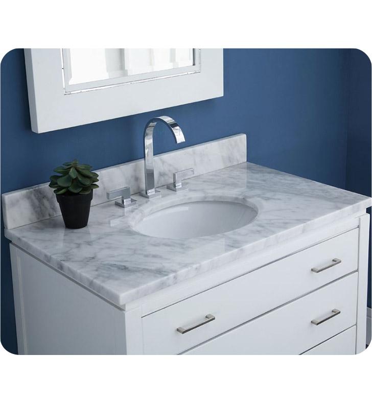 ryvyr v manhattan 36wt manhattan 36 modern bathroom vanity in white