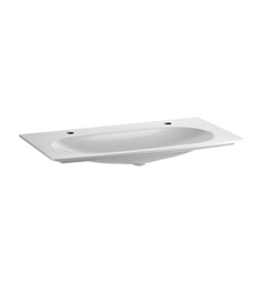 Keuco Elegance 31671310002 Cast Mineral Washbasin with Two Tap Holes