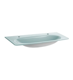 Keuco Elegance 31671900002 Glass Washbasin with Two Tap Holes