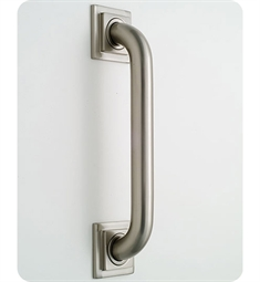 Jaclo 2748 Deluxe Grab Bar with Contemporary Square Flange