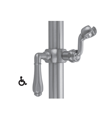 Jaclo SL74-SN Sliding Handshower Mount for Luxury Grab Bars With Finish: Satin Nickel