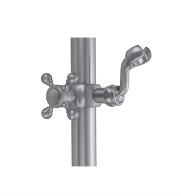 Jaclo SL34-PN Sliding Handshower Mount for Luxury Grab Bars With Finish: Polished Nickel