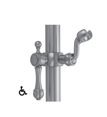 Jaclo SL92-SB Roaring 20's Sliding Handshower Mount for Luxury Grab Bars With Finish: Satin Brass
