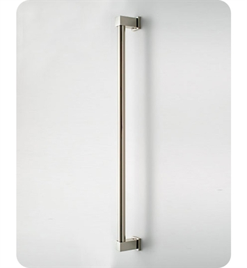 Jaclo 4324-PEW Cubix Luxury Grab Bar With Finish: Pewter