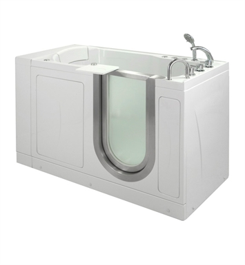Ella 9316 Petite Dual Air and Hydro Massage Walk In Tub