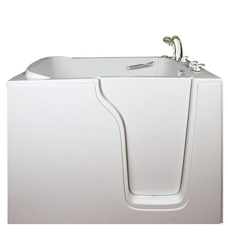 Ella 35550 bariatric 30 5 inch wide seat walk in bathtub for Walk in tub water capacity