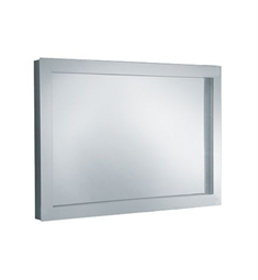 "Keuco 30096013050 Edition 300 37"" Lighted Mirror with Chrome-plated Metal Frame"