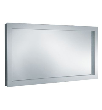 "Keuco 30096012550 Edition 300 49"" Lighted Mirror with Chrome-plated Metal Frame"