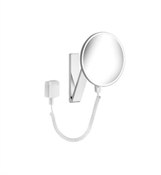 Keuco ILook_move 17612019001 Cosmetic Mirror With Plug-in Transformer