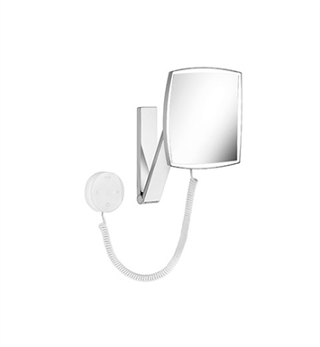 Keuco 17613019050 ILook_move Cosmetic Mirror With Concealed Transformer