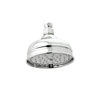 "Rohl 1017-8 5"" Bordano Anti-Cal Showerhead"