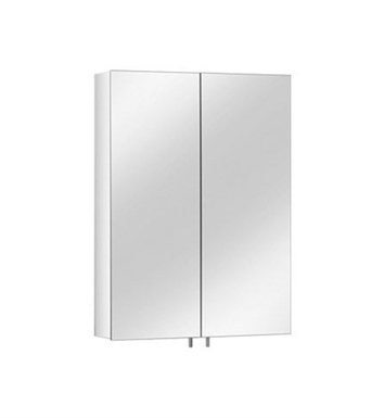Keuco 05601171390 Royal 30 Mirror Cabinet with Silver Anodized Body Finish and 6 Glass Shelves