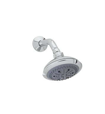 "Rohl I00180-STN 4 1/2"" Ocean4 Showerhead With Finish: Satin Nickel"