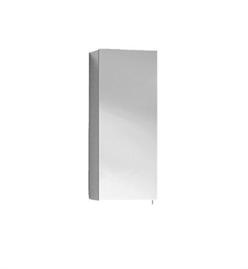 Keuco 05621171100 Royal 30 Right Hand Mirror Cabinet with Silver Anodized Body Finish