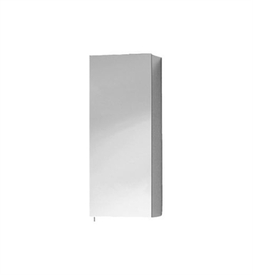 Keuco 05623171200 Royal 30 Left Hand Mirror Cabinet with Silver Anodized Body Finish