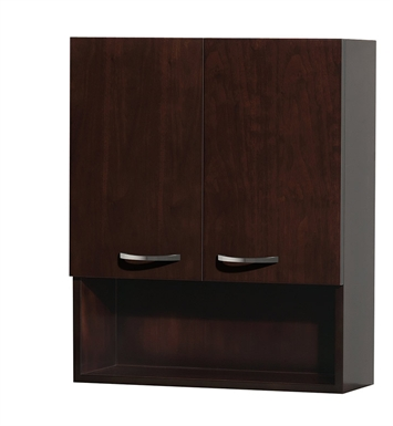 [DISABLED]Maria Wall Cabinet by Wyndham Collection in Espresso